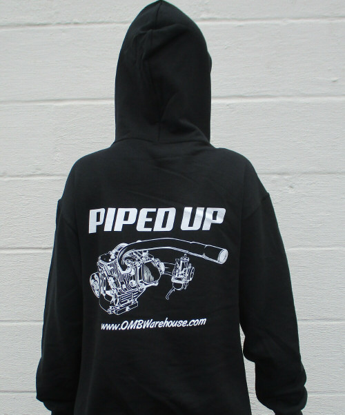 Piped Up Engine Hoodie