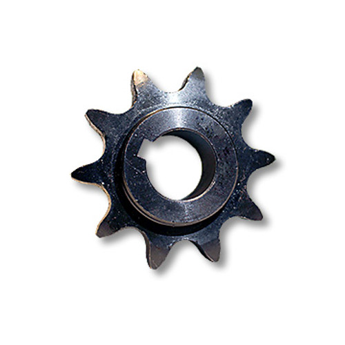 "SPROCKET – ""C"" TYPE, STEEL, 10 TOOTH, #50 CHAIN, 3/4″ BORE, 3/16″ KEYWAY, NO SET SCREW"
