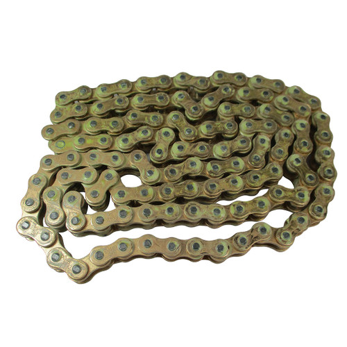 EK 420HT High Tensile Strength Gold Chain 5 Feet with Master Link