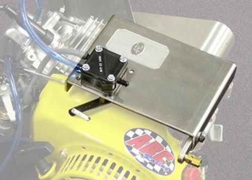 Top Plate / Throttle Mechanism for 196cc 5 Bolt Valve Cover Clones