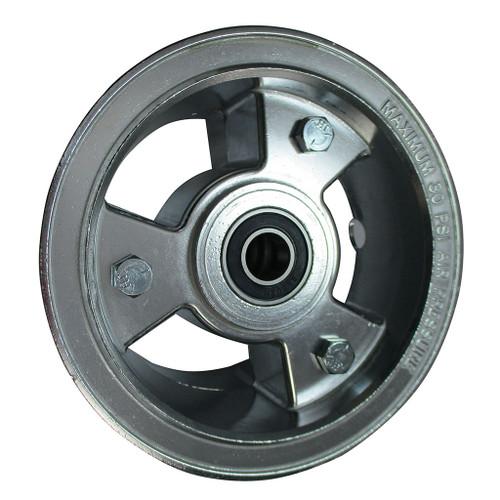 "5"" AZUSA Tri-Star Wheel 5/8"" Precision Bearing"