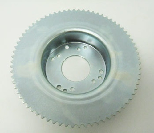 """72 Tooth 35 Chain Sprocket 4-1/2"""" Drum for Band Brake"""