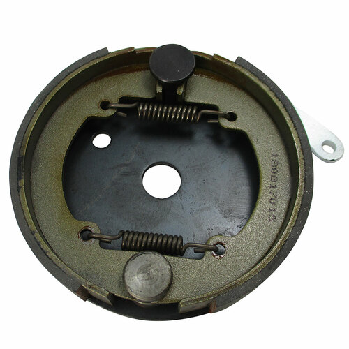 "4-1/2"" Brake Assembly w/ Steel Backing Plate, 5/8"" Bore"