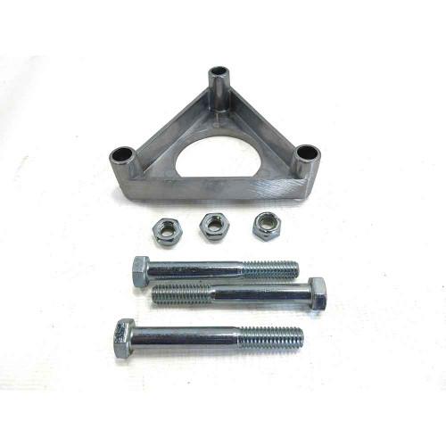 """Brake Drum Platform for 5"""" Azusalite Wheels w/ Nuts & Bolts"""