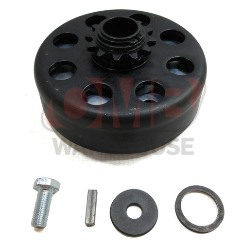 """Mongrel Racing Clutch 3/4"""" Bore 35 Chain - 12 Tooth"""