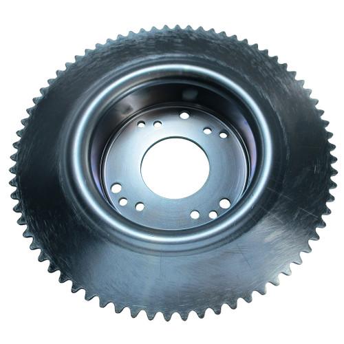 """72 Tooth 35 Chain Sprocket 4-1/2""""Drum for Tristar Wheel Internal Brake"""