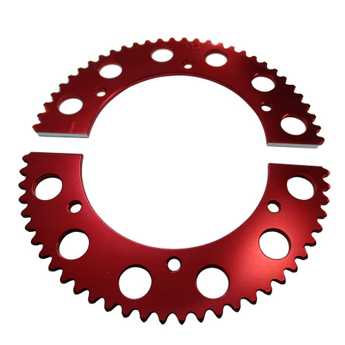 Pit Parts Split Sprocket - 62 Tooth - 35 Chain