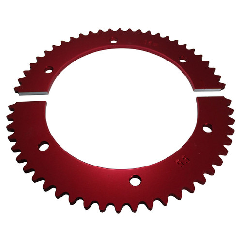Pit Parts Split Sprocket - 55 Tooth - 35 Chain