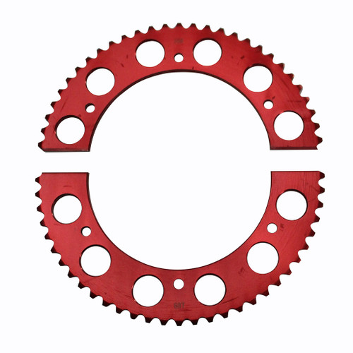 Pit Parts Split Sprocket - 60 Tooth - 35 Chain