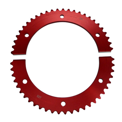 Pit Parts Split Sprocket - 53 Tooth - 35 Chain