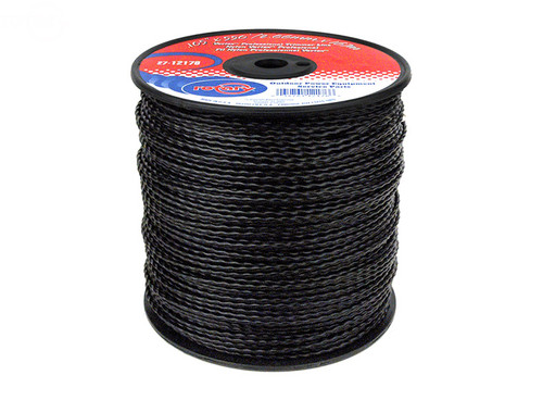 Black Vortex Professional Trimmer Line .105 x 550' Medium Spool