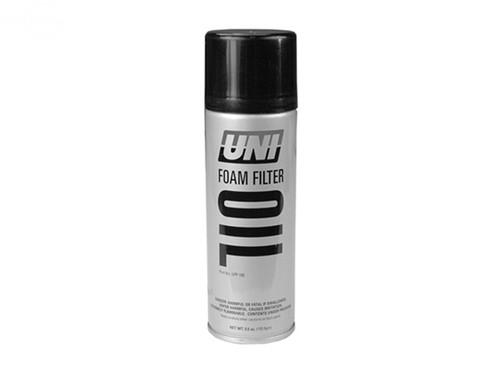Oil Spray Foam Filter - 5.5 Oz Can