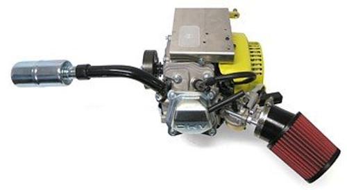 Mud Duck Boat Exhaust Pipe w/ Muffler - Predator 212cc 196cc 6.5HP
