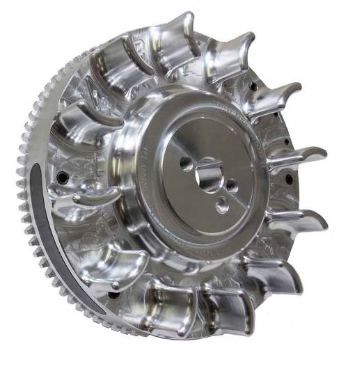 Clone 196cc Electric Start Billet Flywheel