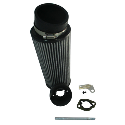 "Predator 212cc / Clone 196cc 8"" Angled Air Filter Intake Kit AIRKITP-KM3"