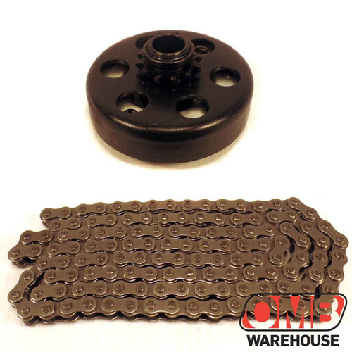 """3/4"""" Clutch 12 Tooth & 4' #35 Chain"""