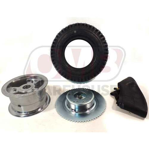 """6"""" Tri-Star Wheel 72 Tooth Sprocket Assembly"""