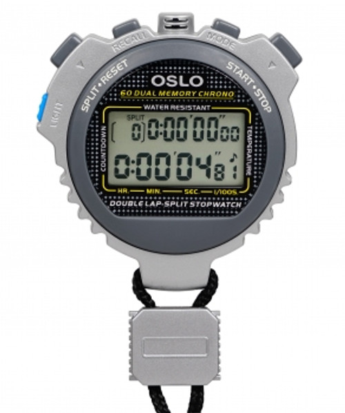 Oslo 60 Dual Memory Stopwatch