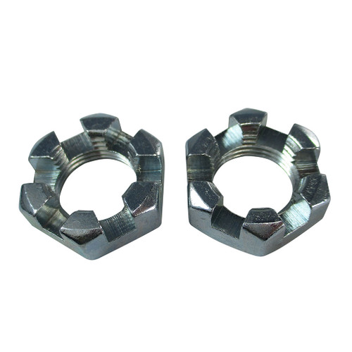 5/8 - 18 Slotted Spindle Nut - 2 Pack