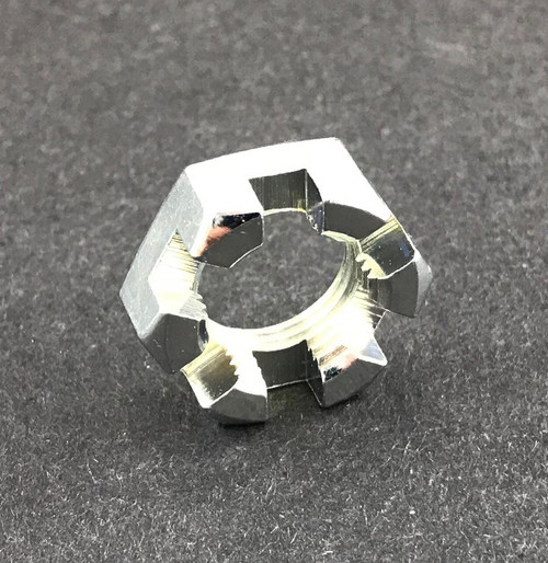 5/8 - 18 Slotted Spindle Nut