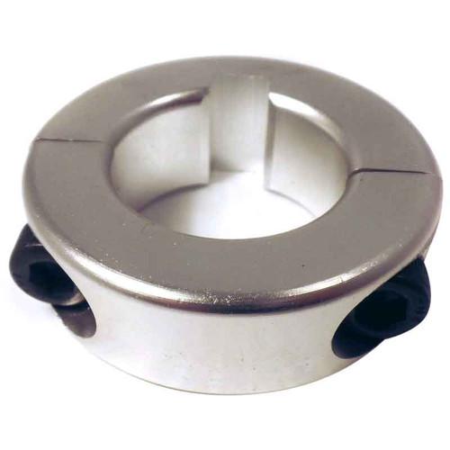 1'' Aluminum Axle Lock Collar - 1/4'' Keyway