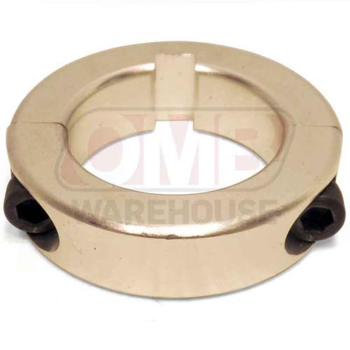 1-3/8'' Aluminum Axle Lock Collar - 1/4'' Keyway