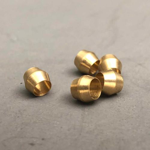 (5) Pack of Brass Ferrules