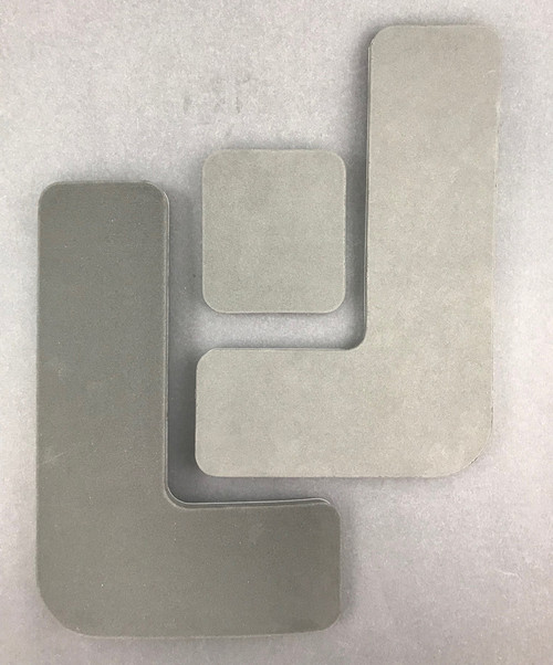 Foam Seat Padding - 1/2'' Pre-Cut - 3 Piece Set