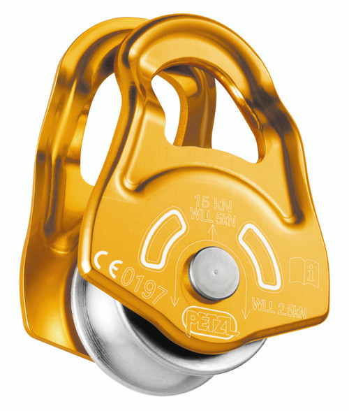 Mobile Versatile Compact Pulley By Petzl