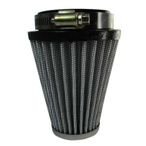 """Air Filter 3-1/2"""" x 4"""" x 2-1/4"""" Fabric Tapered Chrome"""