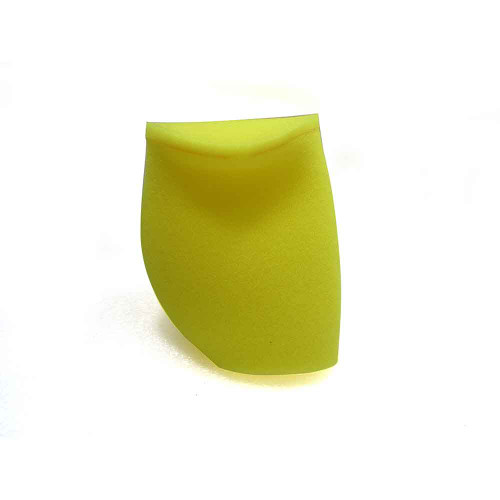 """Foam Pre-Filter Yellow Closed End  3-3/4""""x6"""""""