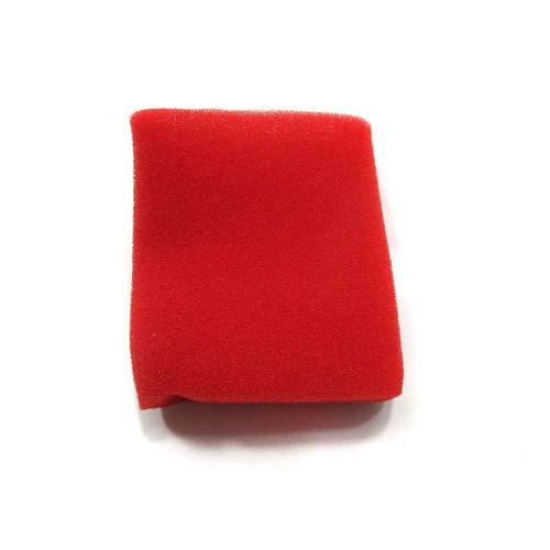 Red Foam Pre-Filter - 3'' x 5''