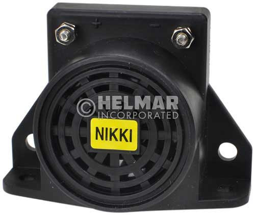 820 Nikki Back-Up Alarm, 12-24V 87DB