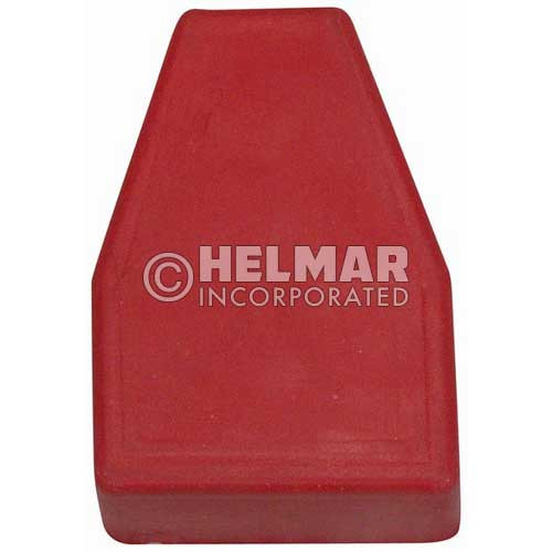 06105 Terminal Boots Straight, Red, 1/0-2/0 Gauge
