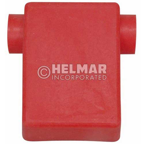 06113 Terminal Boots Flag, Red, 2 Gauge