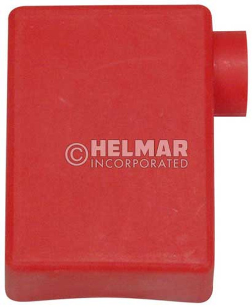 06115 Terminal Boots RT Elbow, Red, 2 Gauge