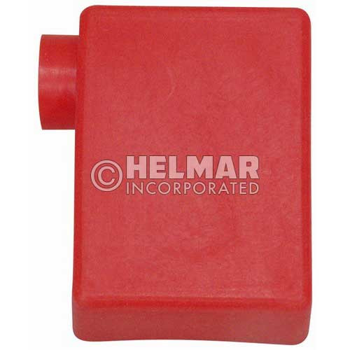 06117 Terminal Boots LT Elbow, Red, 2 Gauge