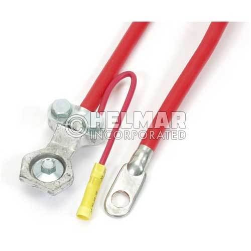 """04257 Red Battery Cables, 25"""" Length, 4 Gauge"""
