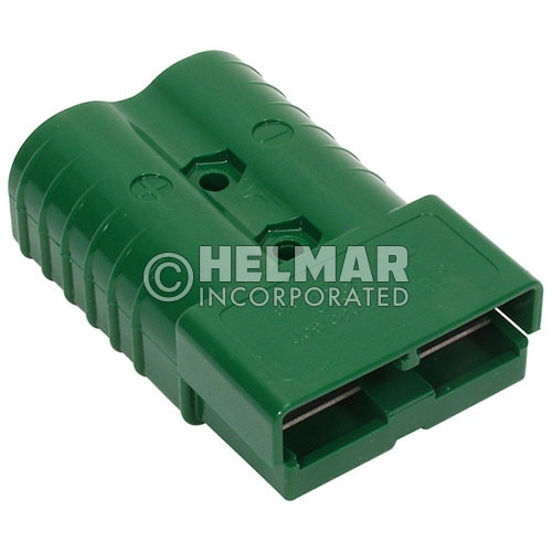 E6348G2 Original Anderson Power SBE Connector, Housing with Springs and Two Contacts, 320 AMP, 3/0 Green