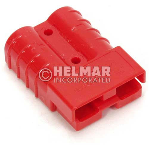 E6385G1 Original Anderson Power SBE Connector, Housing with Springs, 160 AMP, Red