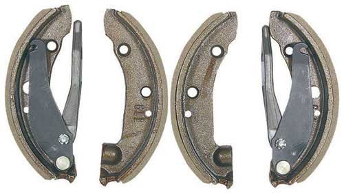 246250 Clark Brake Shoe Set Type 4BS-02, 4 Shoes