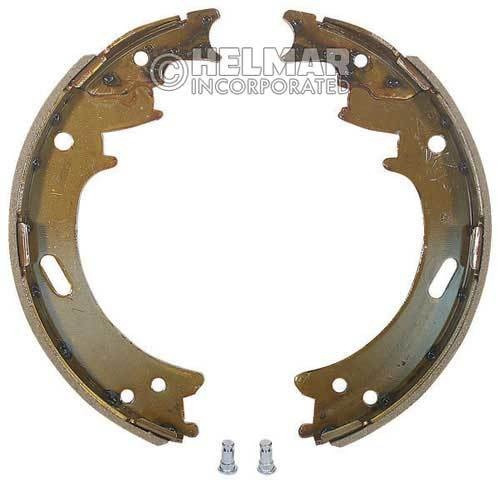 8761124 Hyster Brake Shoes Set Type 2BS-10, 2 Shoes