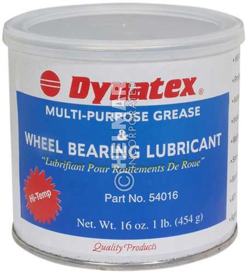 DY-54016 Dynatex Wheel Bearing Grease, 1lb