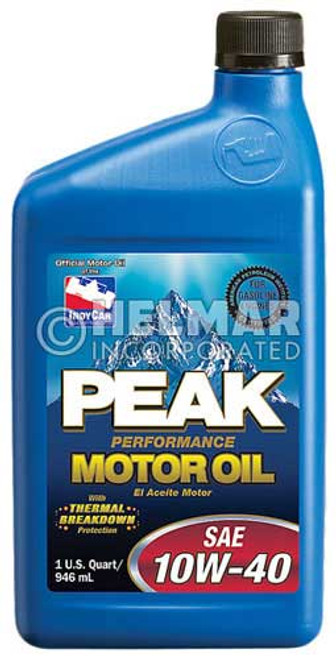 MO-4040 Peak SAE 10W-40 Motor Oil, 1 quart
