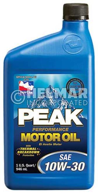 MO-3030 Peak SAE 10W-30 Motor Oil, 1 quart