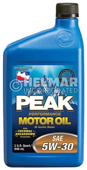 MO-2020 Peak SAE 5W-30 Motor Oil, 1 quart