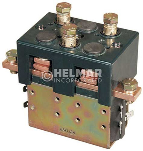 CTR-24-224 24 Volt 180 Amp Contactor, Double Pole - Double Throw - Intermittent Coil - Blowouts