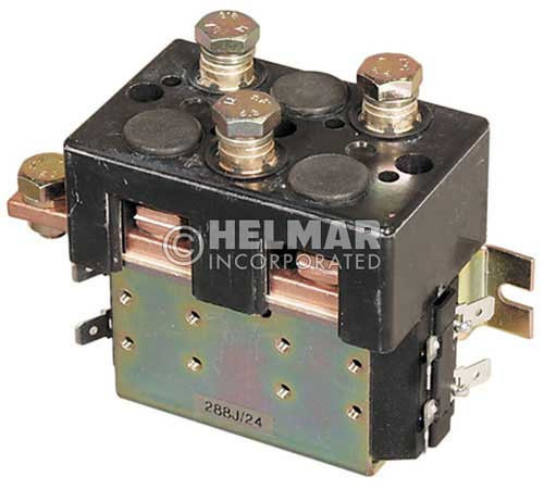 CTR-24-236 24 Volt 180 Amp Contactor, Double Pole - Double Throw - Intermittent Coil - Blowouts