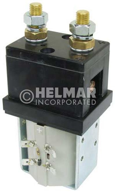 CTR-24-275 24 Volt 250 Amp Contactor, Single Pole - Single Throw - Continuous Coil - Blow Outs