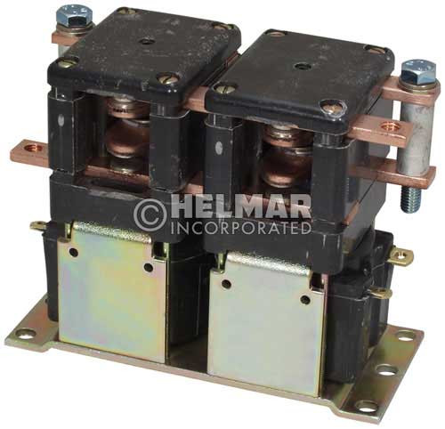CTR-24-272 24 Volt 150 Amp Contactor, Double Pole - Double Throw - Continuous Coil - Mounting Brackets